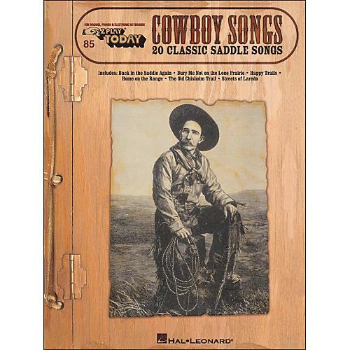 Hal Leonard Cowboy Songs E-Z Play 85-thumbnail
