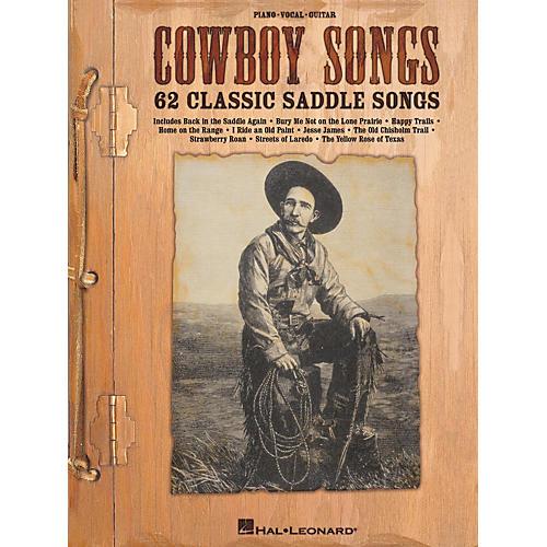 Hal Leonard Cowboy Songs Piano/Vocal/Guitar Songbook-thumbnail