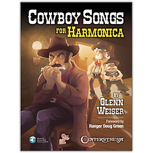 Centerstream Publishing Cowboy Songs for Harmonica Book/Audio Online by Centerstream Publishing