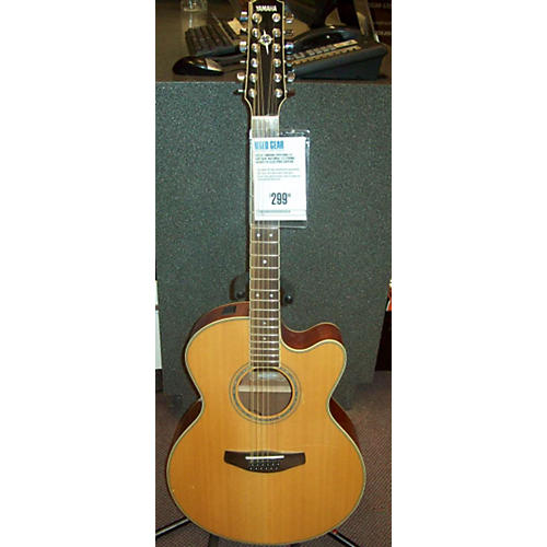 Yamaha Cpx700ii 12 12 String Acoustic Electric Guitar-thumbnail