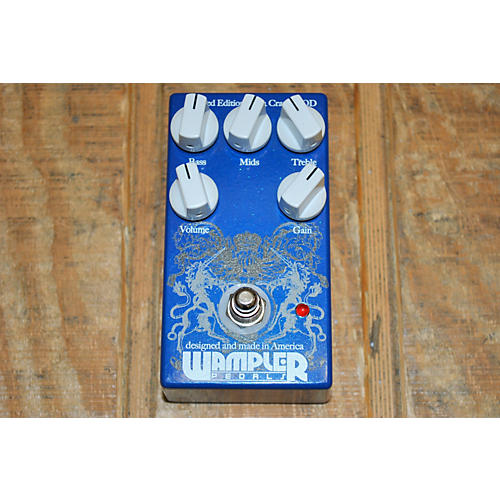 Wampler Cranked OD Limited Edition Effect Pedal-thumbnail