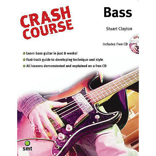 Music Sales Crash Course - Bass Music Sales America Series Softcover with CD Written by Stuart Clayton