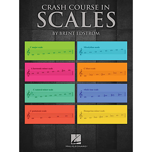 Hal Leonard Crash Course in Scales Educational Piano Library Series Softcover Written by Brent Edstrom