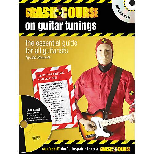 Artemis Music Crash Course on Guitar Tunings (Book/CD)