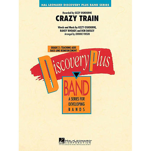 Hal Leonard Crazy Train - Discovery Plus Concert Band Level 2-thumbnail