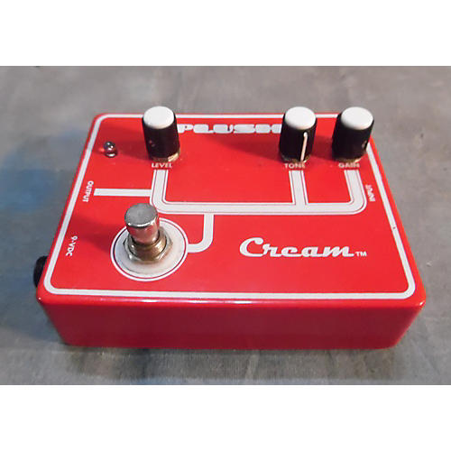 Peluso Cream Overdrive Effect Pedal