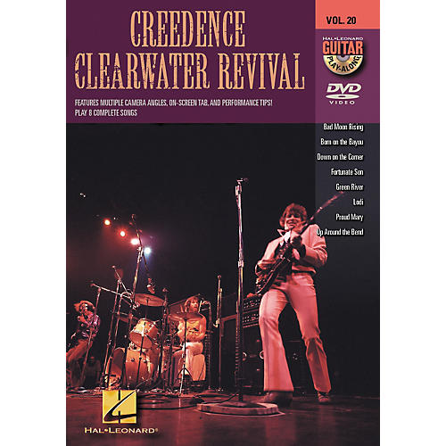 Hal Leonard Creedence Clearwater Revival - Guitar Play-Along DVD, Volume 20-thumbnail