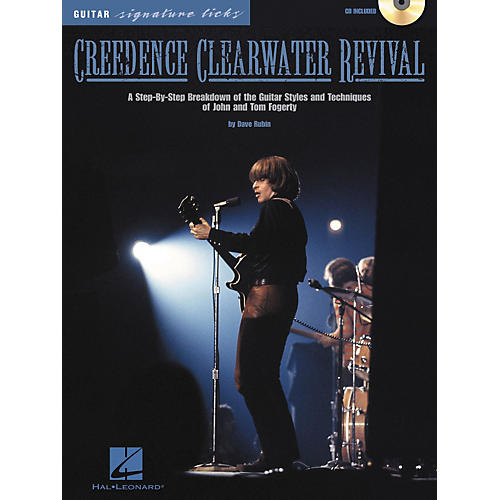 Hal Leonard Creedence Clearwater Revival Guitar Signature Licks CD with Tab-thumbnail