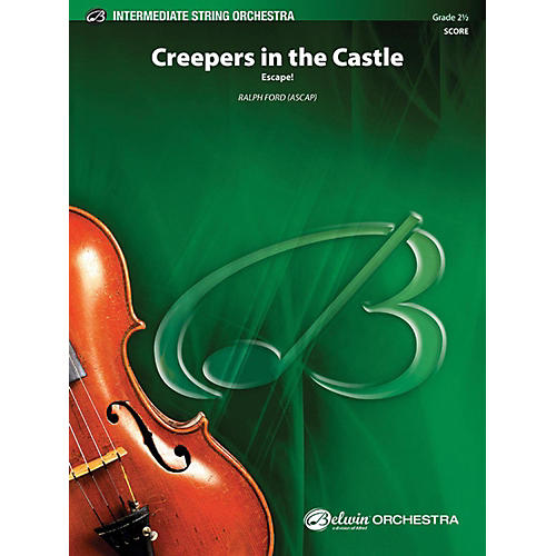 Alfred Creepers in the Castle String Orchestra Grade 2.5-thumbnail