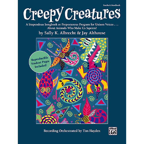 Alfred Creepy Creatures Teachers Handbook-thumbnail