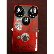 EarthQuaker Devices Crimson Drive Germanium Overdrive Effect Pedal