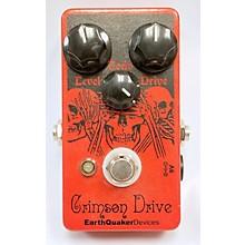 Earthquaker Devices Crimson Drive Germanium Overdrive Effect Pedal