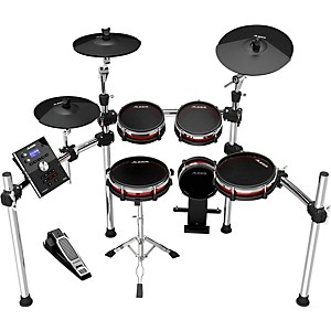 Click here to buy Alesis Crimson Electronic 5-Piece Drum Kit with Mesh Heads by Alesis.