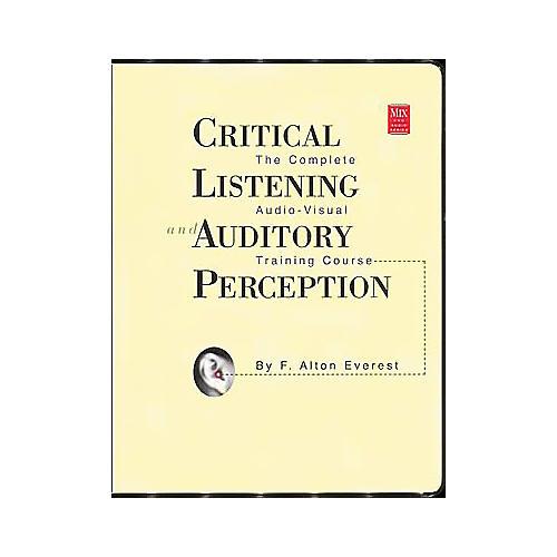 ArtistPro Critical Listening Auditory Perception (Book/CD)-thumbnail