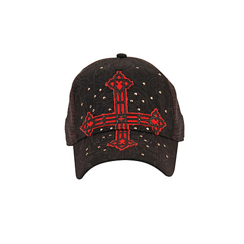 Fender Cross Applique Trucker Hat-thumbnail