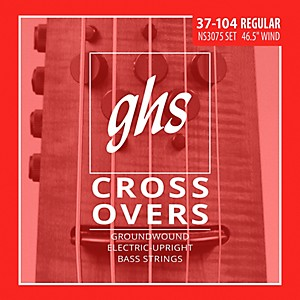 GHS Crossovers NS Design 5 String Upright Electric Bass Strings 47-128 by GHS