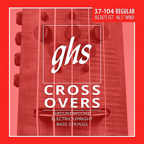 GHS Crossovers NS Design Upright Electric Bass Strings (47-105)-thumbnail