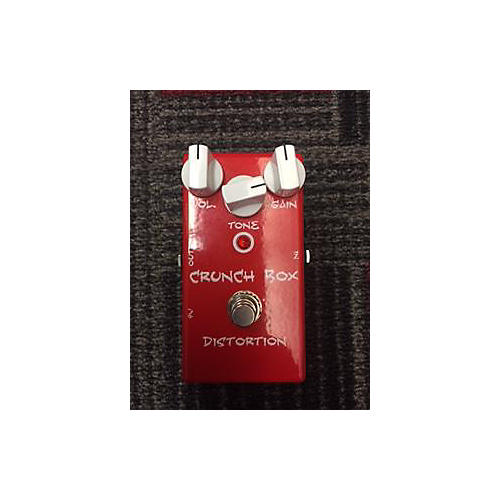 In Store Used Crunch Box Flat Red Effect Pedal-thumbnail