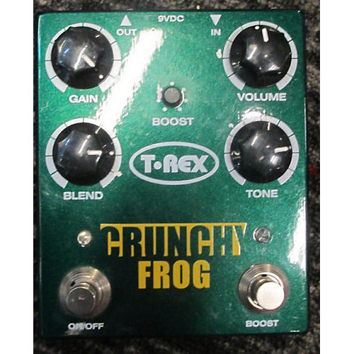 T-Rex Engineering Crunch Frog Classic Overdrive Effect Pedal-thumbnail