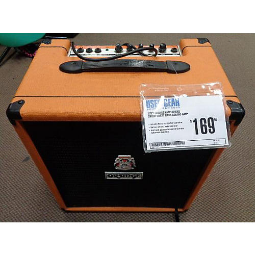 Orange Amplifiers Crush 50bxt Bass Combo Amp
