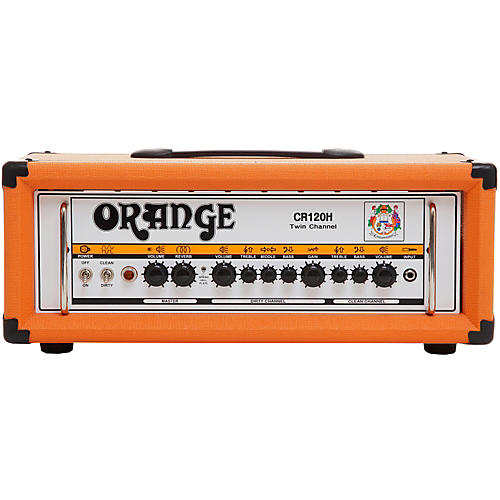 Orange Amplifiers Crush Pro CR120H 120W Guitar Amp Head-thumbnail