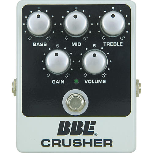 BBE Crusher Distortion Effect Pedal-thumbnail