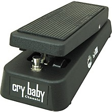 Dunlop Cry Baby Classic Fasel Inductor Wah Pedal