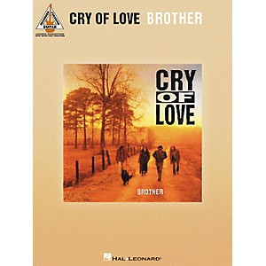 Hal Leonard Cry Of Love - Brother Guitar Tab Songbook