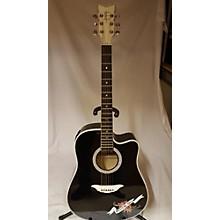 Esteban Crystal Heart Acoustic Electric Guitar