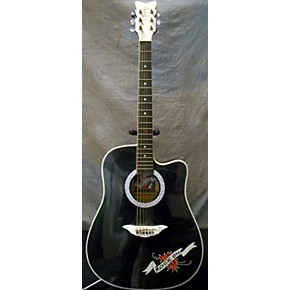 used esteban crystal heart acoustic guitar guitar center. Black Bedroom Furniture Sets. Home Design Ideas