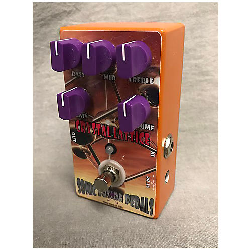 Sonic Fusion Pedals Crystal Lattice Effect Pedal