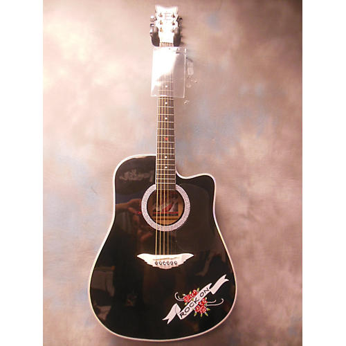 Esteban Crystal Rose Acoustic Electric Guitar