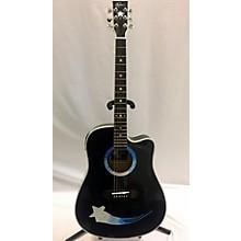 Esteban Crystal Star Acoustic Electric Guitar