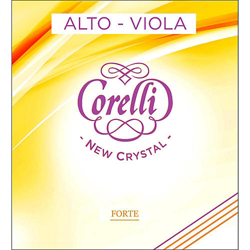 Corelli Crystal Viola A String Full Size Heavy Loop End