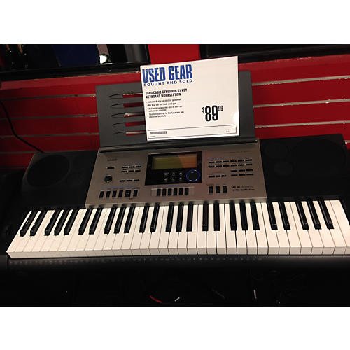 Casio Ctk6300in 61 Key Keyboard Workstation
