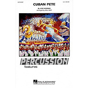 Hal Leonard Cuban Pete Percussion Feature Marching Band Level 4