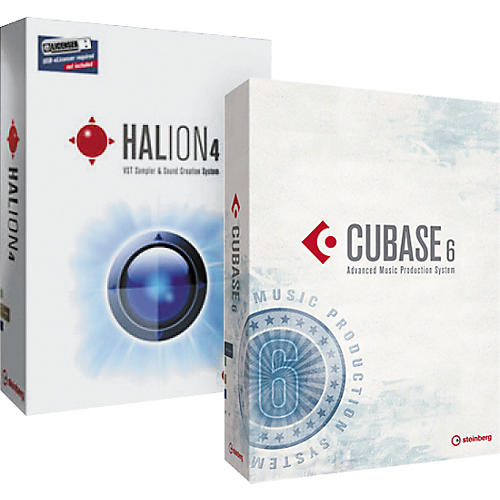 Steinberg Cubase 6 and HALion 4 Bundle