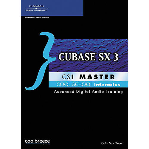 Course Technology PTR Cubase SX 3 CSi Master (CD-ROM)-thumbnail