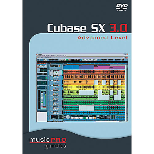 Cherry Lane Cubase SX 3.0 Advanced Level DVD Music Pro Guide Series