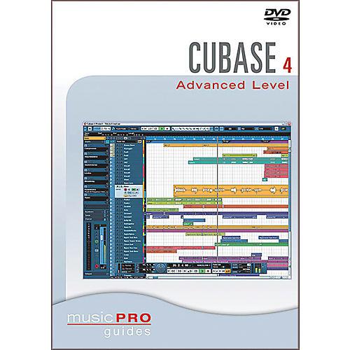 Hal Leonard Cubase SX 4.0 Advanced Level DVD Music Pro Guid