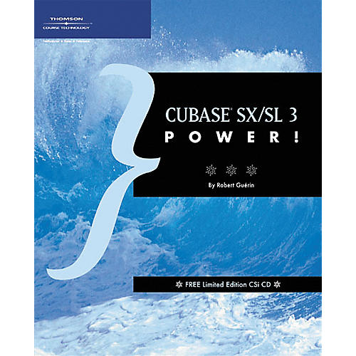 Course Technology PTR Cubase SX/SL 3 Power! Book
