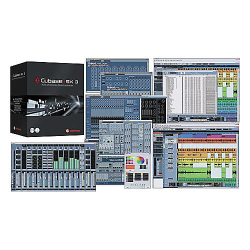 Steinberg Cubase SX3 Recording Software-thumbnail