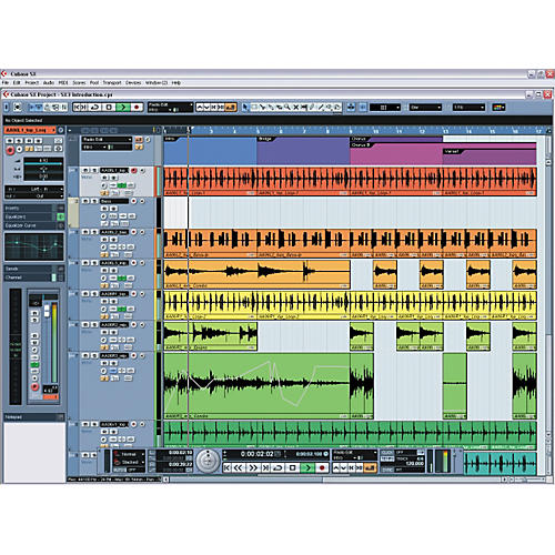 Steinberg Cubase SX3 Upgrade from LE/Cubasis