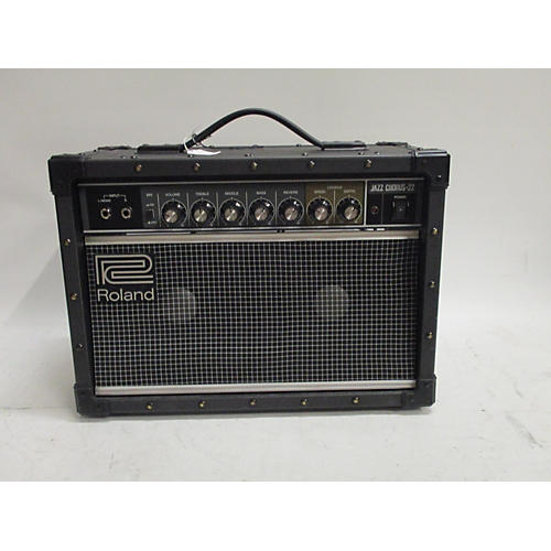 used roland cube 20xl 1x8 20w guitar combo amp guitar center. Black Bedroom Furniture Sets. Home Design Ideas