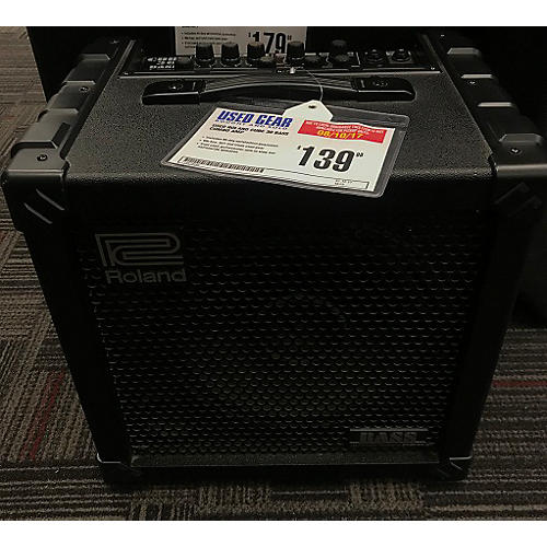 used roland cube 30 bass combo amp guitar center. Black Bedroom Furniture Sets. Home Design Ideas