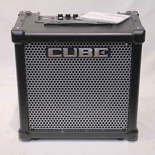 used roland cube 40gx 40w 1x10 guitar combo amp guitar center. Black Bedroom Furniture Sets. Home Design Ideas