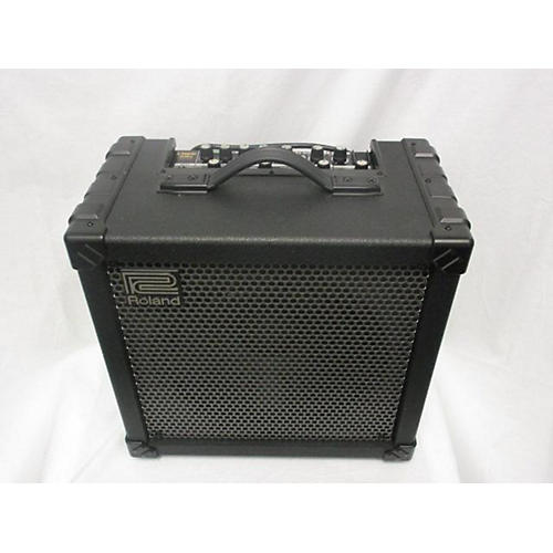 used roland cube 80x 80w 1x12 guitar combo amp guitar center. Black Bedroom Furniture Sets. Home Design Ideas