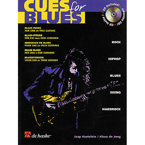 De Haske Music Cues for Blues Guitar Book with CD-thumbnail