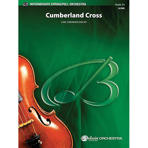 Alfred Cumberland Cross Full Orchestra Grade 2.5
