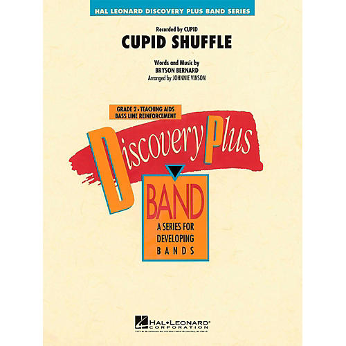 Hal Leonard Cupid Shuffle - Discovery Plus Concert Band Level 2